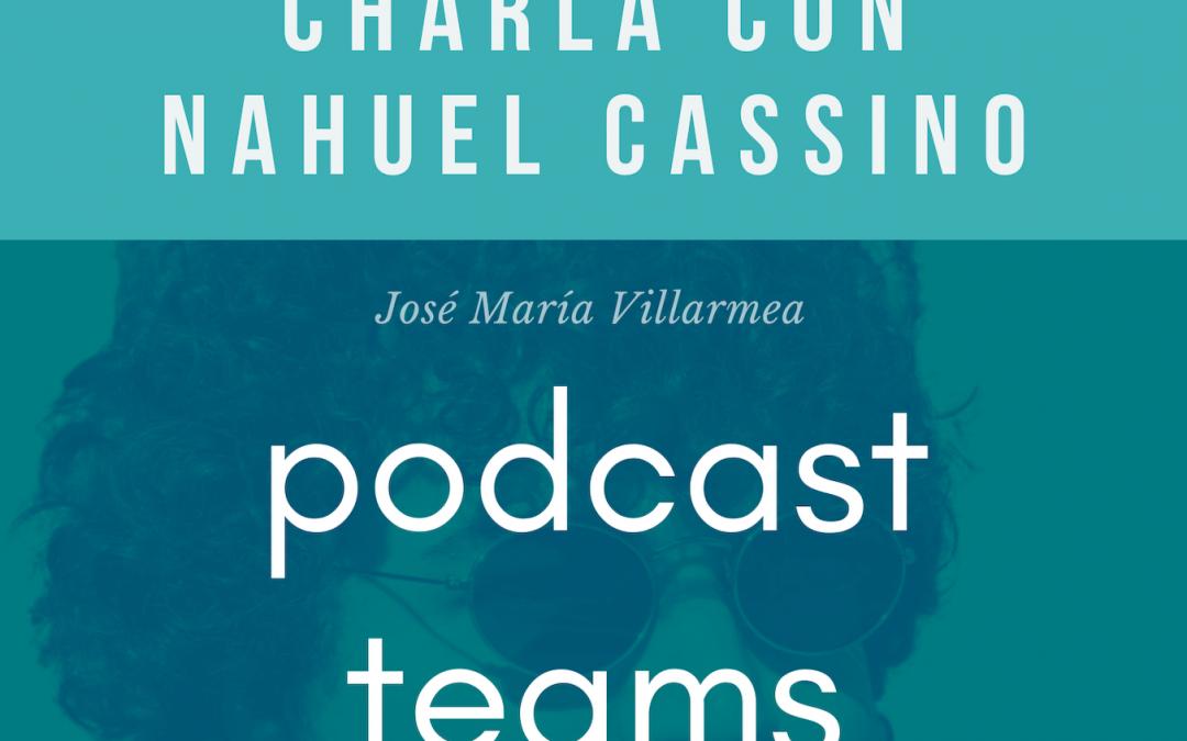 Fantástica charla con Nahuel Cassino