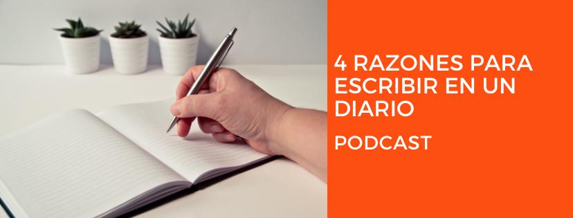 4 razones para escribir en un diario